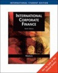 International Corporate Finance: Madura, Jeff