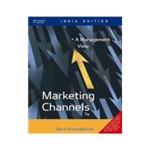 9788131502808: Marketing Channels: A Management View