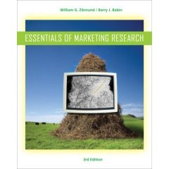 Essentials of Marketing Research 3/ed: Zikmund