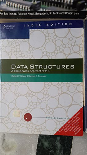 9788131503140: Data Structures: A Pseudocode Approach with C