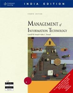 Management of Information Technology (9788131503515) by Frenzel Carroll John