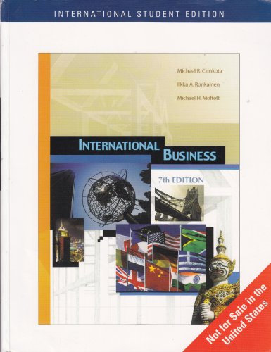 International Business (Seventh Edition): Michael R. Czinkota