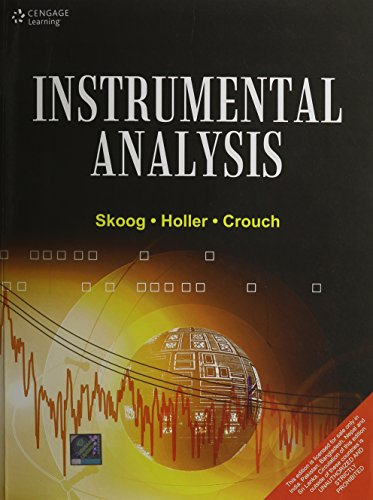 Instrumental Analysis (India Edition): Douglas A. Skoog;