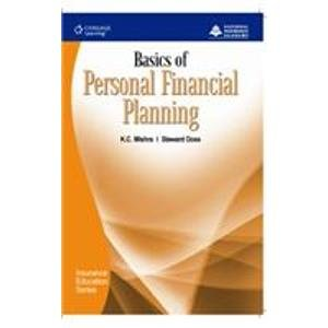Basics of Personal Financial Planning: National Insurance Academy