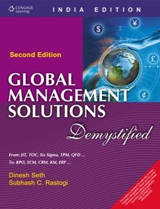 9788131510490: Global Management Solutions - Demystified