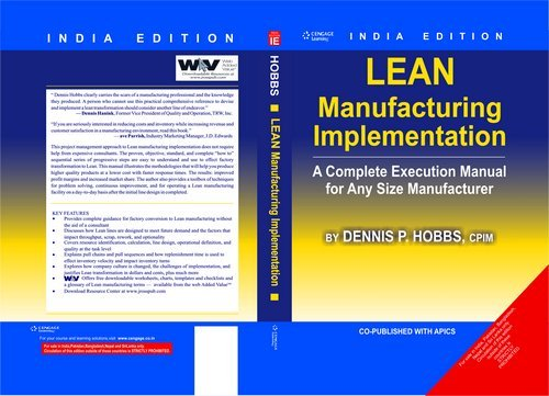 LEAN Manufacturing Implementation: A Complete Execution Manual for Any Size Manufacturer: Dennis P....