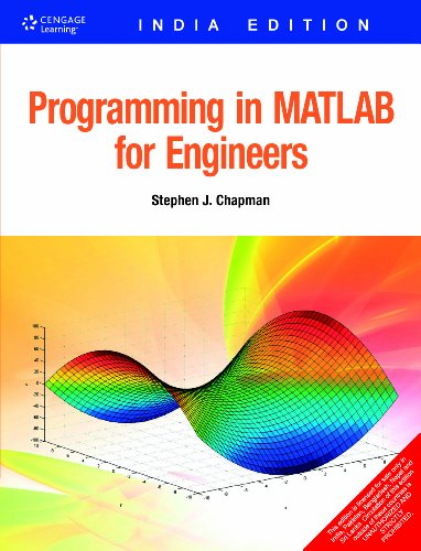 9788131511176: PROGRAMMING IN MATLAB FOR ENGINEERS