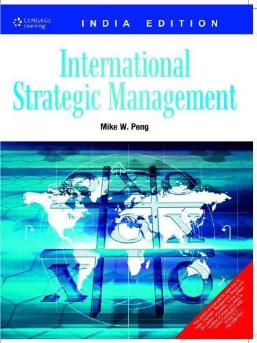 International Strategic Management: Mike W. Peng