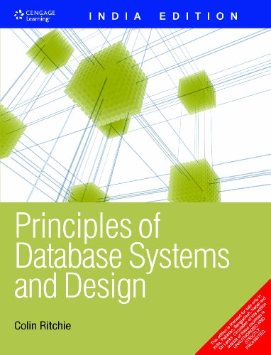 Principles of Database Systems and Design (India: Colin Ritchie