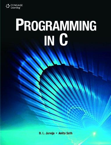 Programming In C: Juneja / Seth