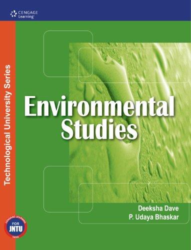 Environmental Studies (for JNTU, Kakinada): Deeksha Dave