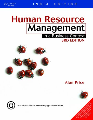 Human Resource Management: In a Business Context (Third Edition): Alan Price