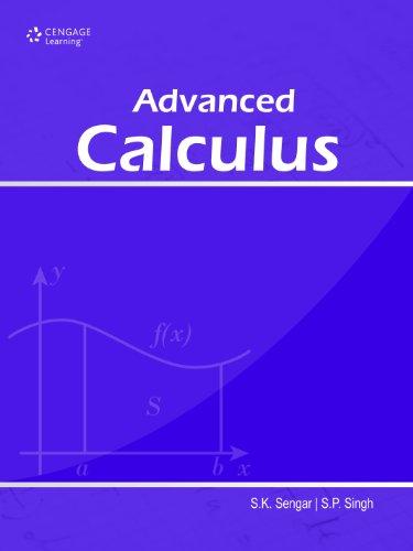 9788131515402: Advanced Calculus