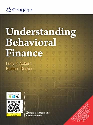 Understanding Behavioral Finance: Lucy F. Ackert