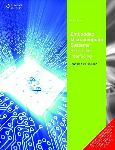 Embedded Microcomputer System Real Time Interfacing W/Cd,3ed: Valvano