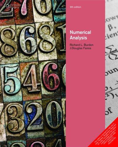 9788131516546: Numerical Analysis