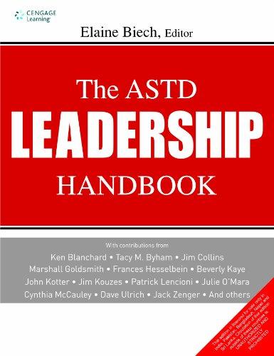 9788131516614: The ASTD Leadership Handbook