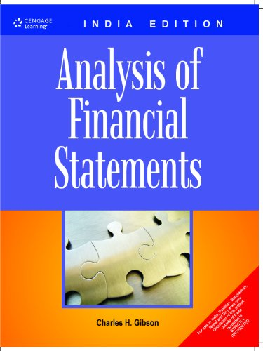 Financial Statement Analysis Twelfth Edition De Charles H Gibson