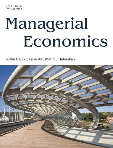 Managerial Economics: Justin Paul,Leena Kaushal,VJ Sebastian