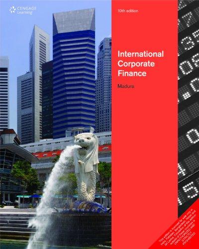International Corporate Finance 10/ed: Madura