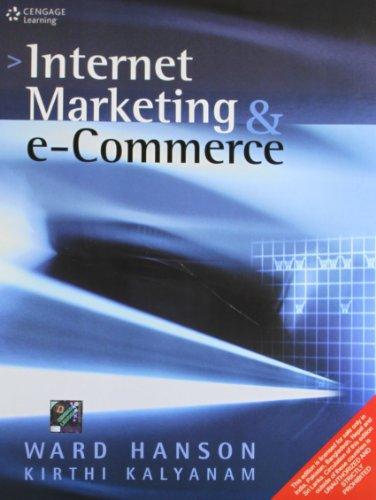 9788131517123: Internet Marketing And E-Commerce,2Ed