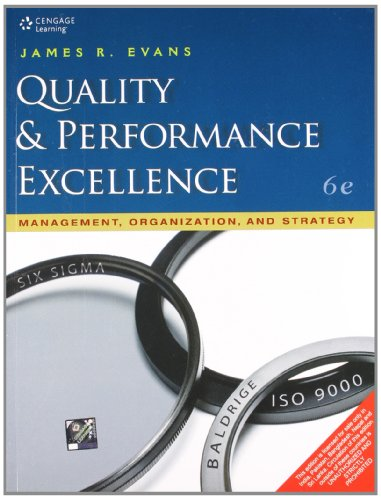 9788131517284: Quality & Performance Excellence