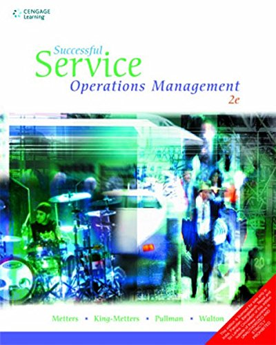 Successful Service Operations Management (Second Edition): Kathryn H. King-Metters,Madeleine