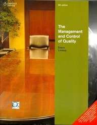 9788131517918: Management & Control of Quality