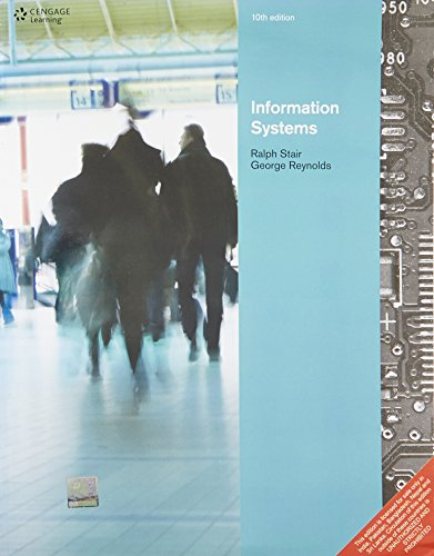 Information Systems,10th Edn: Stair