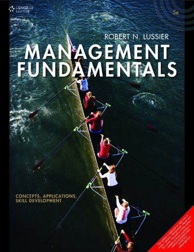 Management Fundamentals: Concepts, Application And Skill Development: Lussier,R.N.