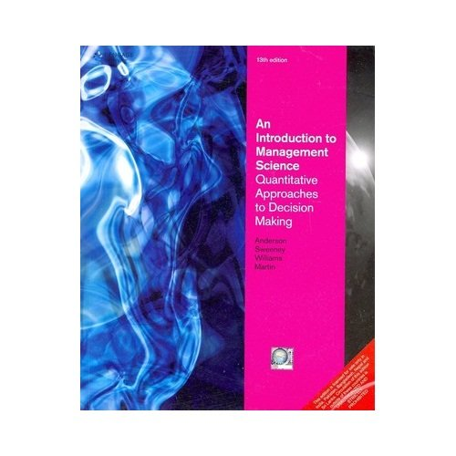 9788131518342: Introduction to Management Science Quantitative Approaches to Decision Making
