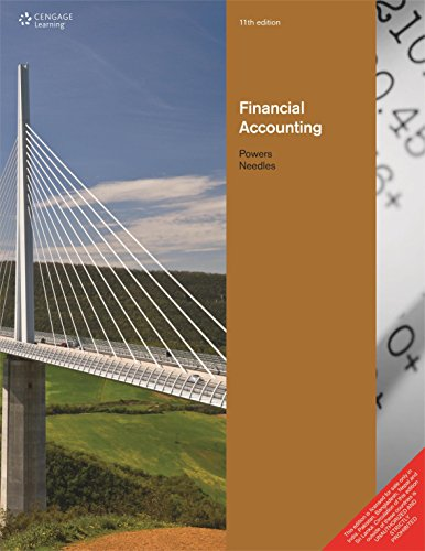 9788131518434: Financial Accounting 11th Edition by Needles (2012-08-02)