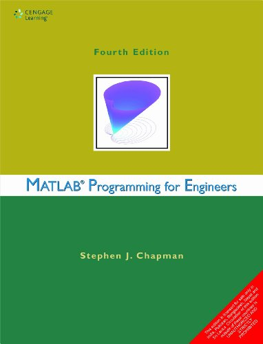 9788131518656: Matlab Programming for Engineers