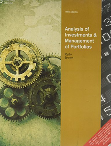 9788131518748: ANALYSIS OF INVESTMENTS & MANAGEMENT OF PORTFOLIOS