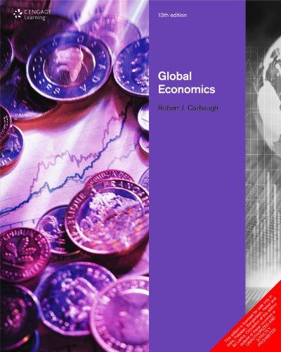 Global Economics (Thirteenth Edition): Robert Carbaugh