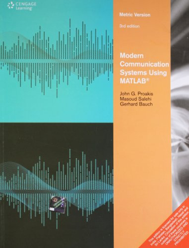 9788131518854: Modern Communication Systems Using MATLAB, 3/e