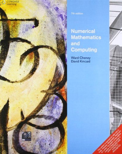 9788131519523: Numerical Mathematics and Computing