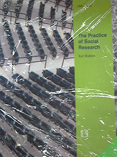 9788131520116: THE PRACTICE OF SOCIAL RESEARCH (13th Edition)
