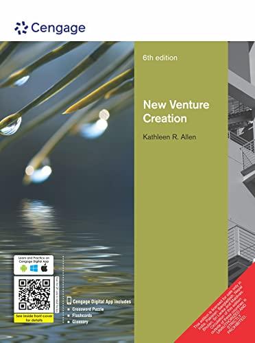 New Venture Creation (Sixth Edition): Kathleen R Allen