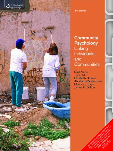 Community Psychology : Linking Individuals and Communities: Kloos, Bret