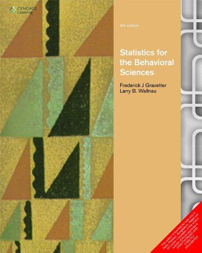 Statistics for the Behavioral Sciences: Gravetter