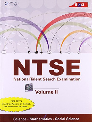 NTSE: Science, Mathematics and Social Science, Volume 2: Cengage Learning India