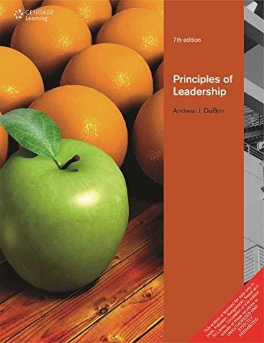 9788131524947: Principles Of Leadership,7Ed