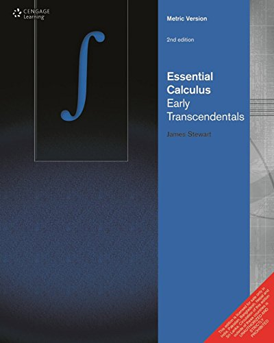 9788131525494: Essential Calculus : Early Transcendentals (Metric Version) (English) 2nd Edition