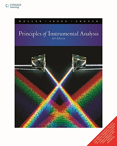 Principles Of Instrumental Analysis, 6Th Edn: Hollar & Skoog