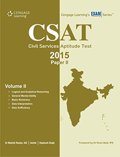 CSAT (Civil Services Aptitude Test 2015 Paper II), Volume 2: Annita,Manish Ranjan,Rajneesh Singh