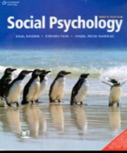 9788131525739: Social Psychology, 9th ed.