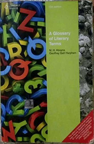 9788131526354: A Glossary of Literary Terms, 11th ed.