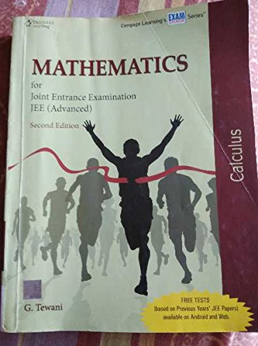 Mathematics for Joint Entrance Examination JEE (Advanced): Calculus, (Second Edition): Ghanshyam ...