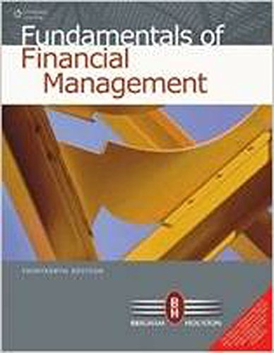 9788131526637: Fundamentals of Financial Management ,13th Ed